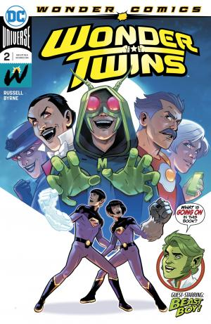 Wonder Twins # 2 Issues