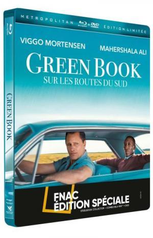 Green Book : Sur les routes du sud édition Steelbook Spéciale Fnac