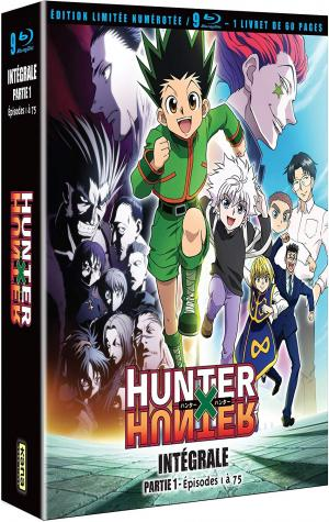 Hunter X Hunter (2011) édition Collector limitée numérotée Blu-ray VF/VOSTF