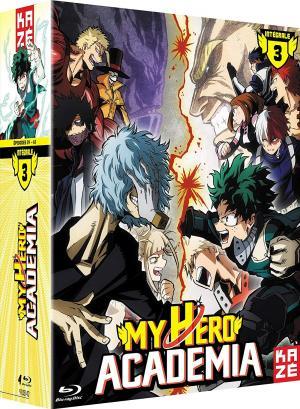 My hero academia - Saison 3 édition Intégrale Blu-ray