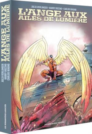 L'ange aux ailes de lumière 1 coffret