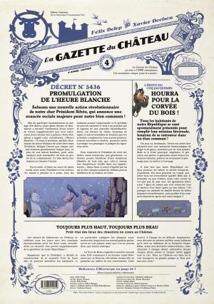 La gazette du château 4 Edition journal