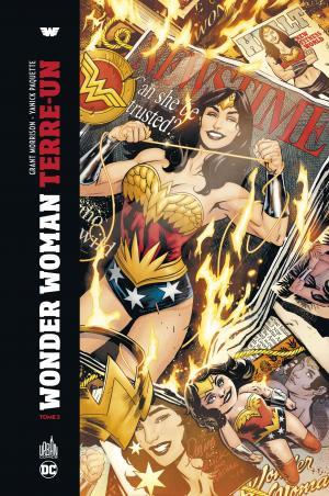 Wonder Woman - Terre Un 2 TPB hardcover (cartonnée)