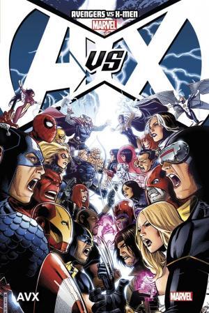 Avengers Vs. X-Men  TPB Hardcover - Marvel Deluxe