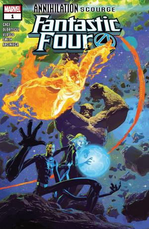 Annihilation - Scourge - Fantastic Four # 1 Issue (2019)