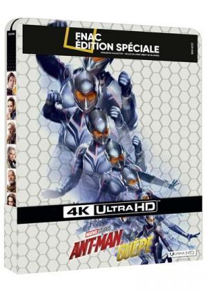 Ant-Man et la Guêpe  Fnac Steelbook Blu-ray 4K Ultra HD