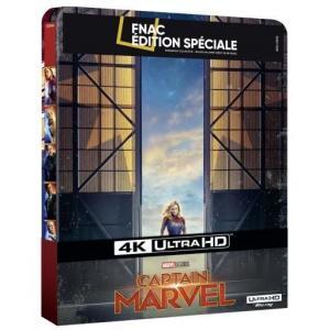 Captain Marvel édition Steelbook Spéciale Fnac Blu-ray 4K Ultra HD