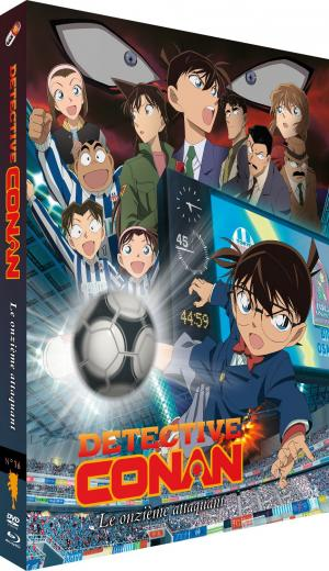 Détective Conan : film 16 - Le Onzième Attaquant édition combo