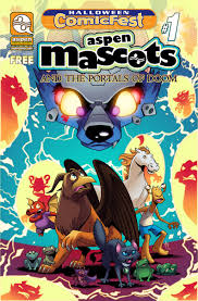 Halloween ComicFest 2019 Aspen Mascots édition Issues