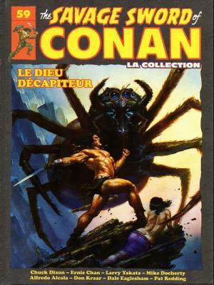 The Savage Sword of Conan 59 TPB hardcover (cartonnée)