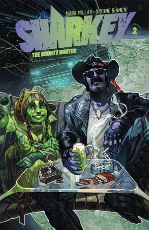 Sharkey the bounty hunter # 2 Issues