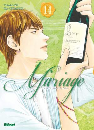 couverture, jaquette Les gouttes de dieu - Mariage 14  (Glénat Manga)