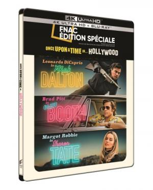Once Upon a Time… in Hollywood édition Steelbook Fnac