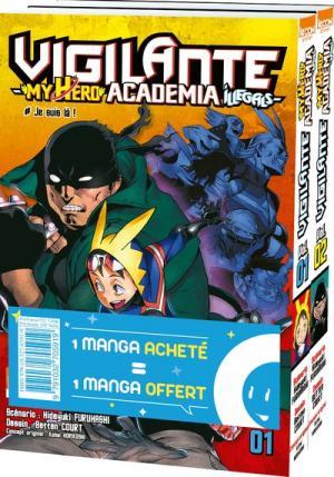 Vigilante - My Hero Academia illegals 1 Pack découverte