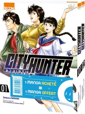 City Hunter Rebirth 1 Pack découverte
