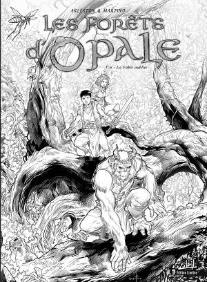 Les forêts d'Opale édition Edition N&B
