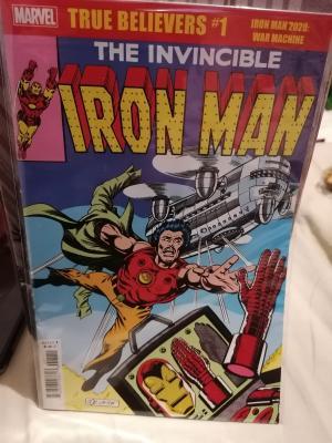 True Believers: Iron Man 2020 - War Machine édition Issues