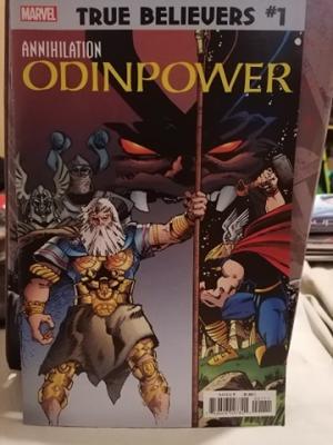 True Believers: Annihilation - Odinpower édition Issues