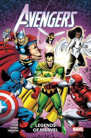 Les légendes de Marvel - Avengers  TPB Hardcover (cartonnée) - 100% Marvel