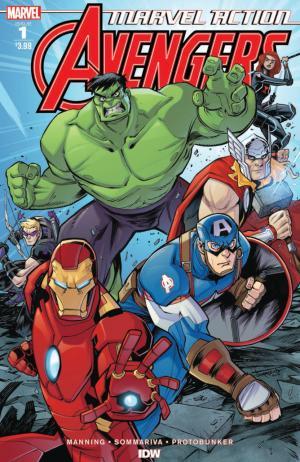 Marvel Action : Avengers  T.1