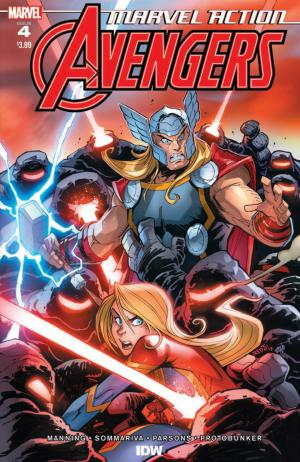 Marvel Action : Avengers  # 4 Issues