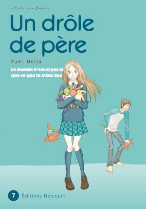 couverture, jaquette Un drôle de père 7  (Delcourt Manga)