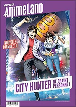 couverture, jaquette Animeland 230  - City hunter ne craint personne (Anime Manga Presse)