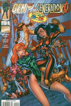 Gen 13/Generation X édition Eye-Popping Full Color 3-D Edition (1997)