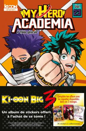 My Hero Academia édition Big three