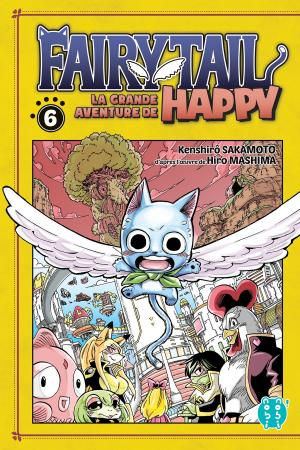Fairy tail - La grande aventure de Happy 6