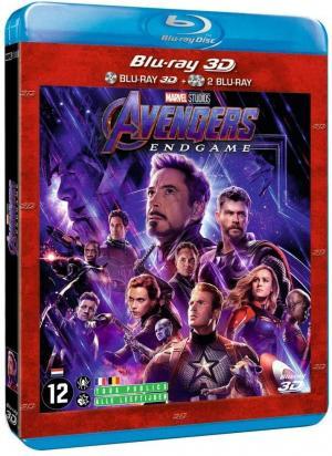 Avengers : Endgame édition 3D + 2 Blu-ray