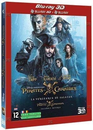 Pirates des Caraïbes : la Vengeance de Salazar édition simple