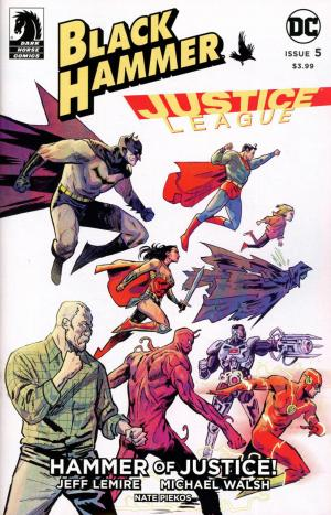 Black Hammer / Justice League - Hammer of Justice ! # 5 Issues