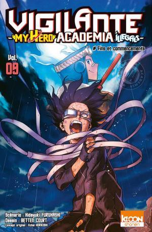 couverture, jaquette Vigilante - My Hero Academia illegals 9  (Ki-oon) Manga