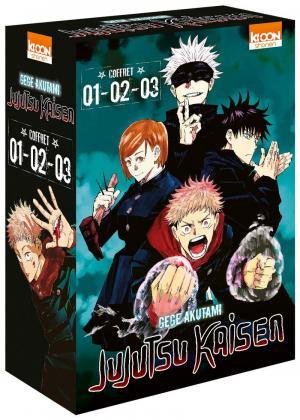 Jujutsu Kaisen 1 Coffret 1 à 3
