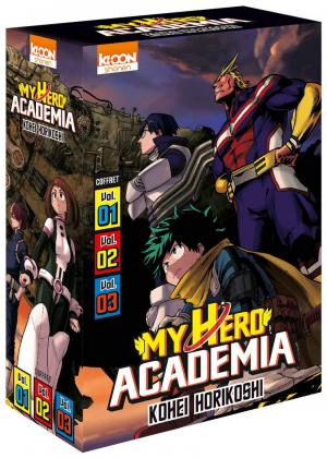 My Hero Academia édition Coffret 1 à 3