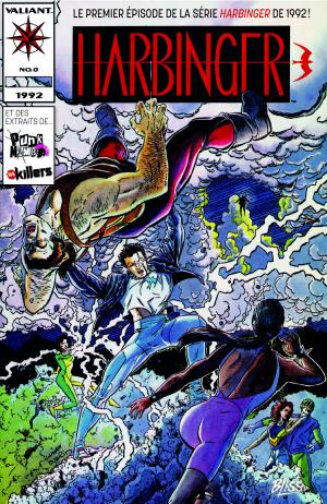 Free Comic Book Day France 2020 - Harbinger  Issues - FCBD France 2020