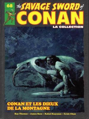 The Savage Sword of Conan 68 TPB hardcover (cartonnée)