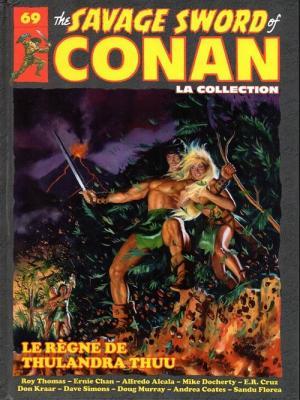 The Savage Sword of Conan 69 TPB hardcover (cartonnée)