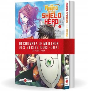 The Rising of the Shield Hero édition Pack 1+2