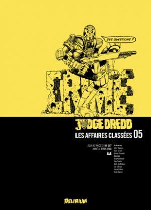 Judge Dredd - Les Affaires Classées 5 TPB hardcover (cartonnée)