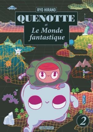 couverture, jaquette Quenotte et le monde fantastique