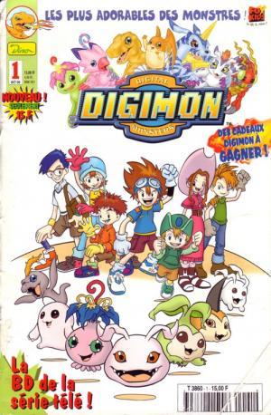 Digimon édition Kiosque Dino Entertainment / Panini