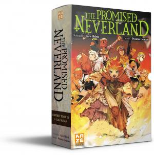 The promised neverland coffret tome 16+gag manga  simple