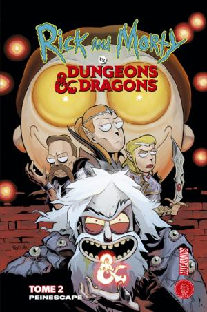 Rick & Morty VS. Dungeons & Dragons 2 TPB Hardcover (cartonnée)