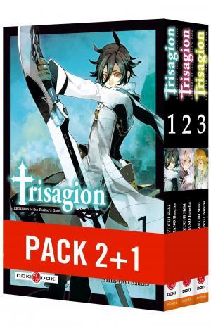 couverture, jaquette Trisagion  Pack série (Doki-Doki)