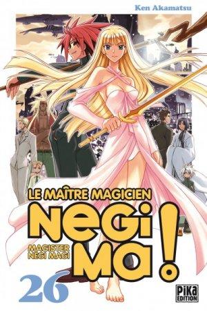 couverture, jaquette Negima ! 26  (Pika)
