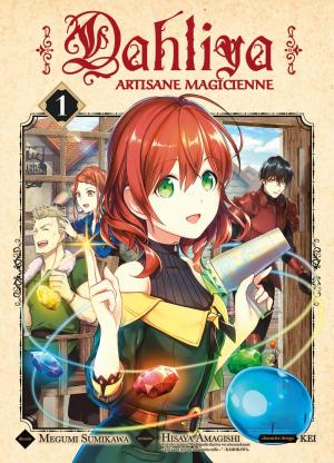 Dahliya - Artisane Magicienne T.1