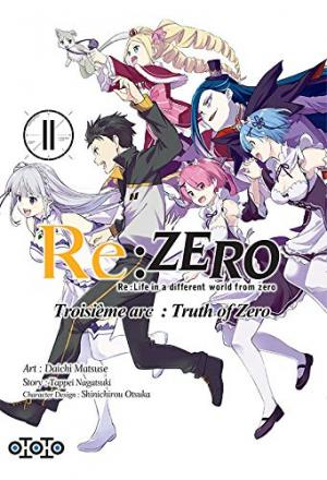 Re:Zero - Re:Life in a different world from zero - Troisième arc : Truth of Zero 11 Simple