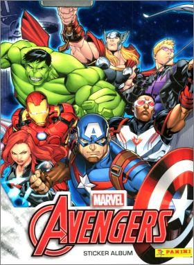 marvel avengers sticker album édition simple
